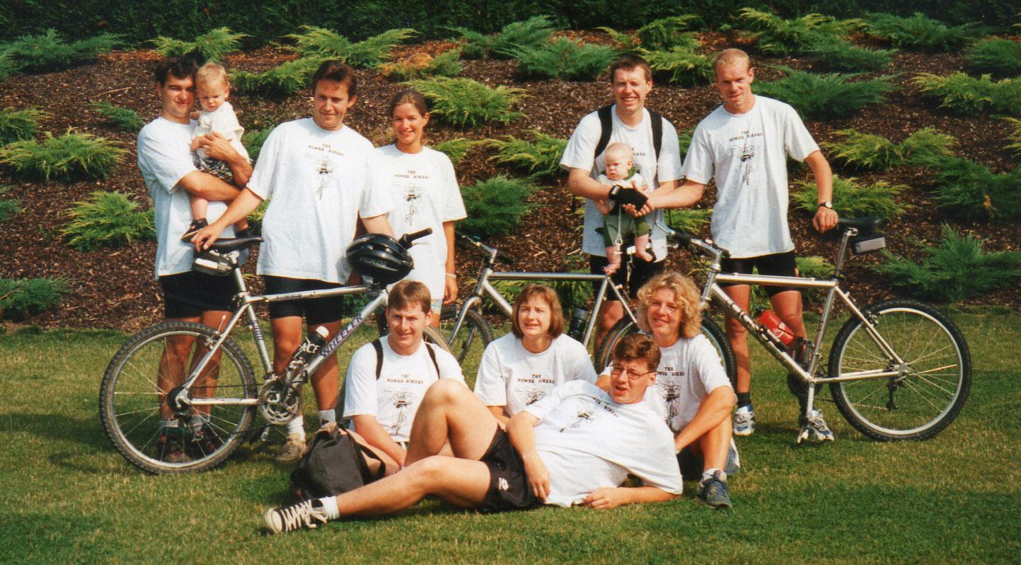 Powerbikers Eerste groepsfoto